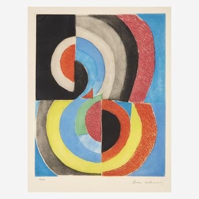 Lot 77 - Sonia Delaunay (French/Ukrainian, 1885-1979)