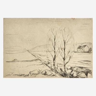 Lot 119 - Edvard Munch (Norwegian, 1863-1944)