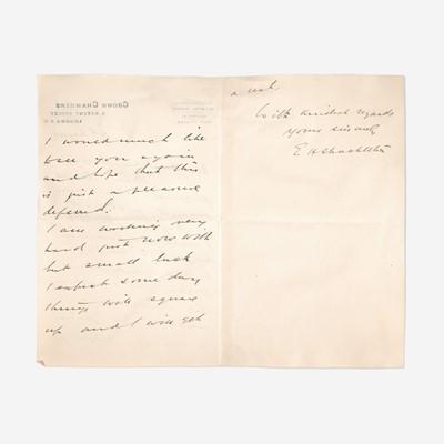 Lot 146 - [Travel & Exploration] Shackleton, Ernest