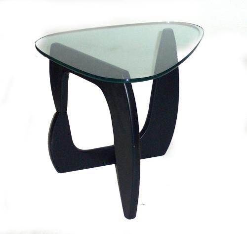 Lot 286 Style Of Noguchi Side Table Ebonized Wood