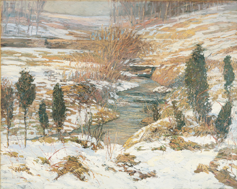 Lot 173 - Edward Willis Redfield (American, 1869-1965)
