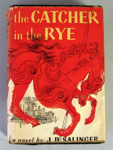 Lot 82 - 1 vol. Salinger, J.D. Catcher in The Rye....