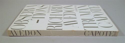 Lot 64 - 1 vol. Avedon, Richard, Photographer; Capote,...