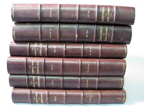 Lot 25 - 8 vols. (Rembrandt Van Rijin, Paul.) The...
