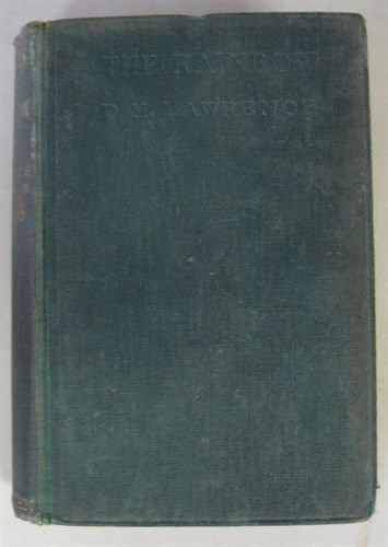 Lot 85 - 1 vol. Lawrence, D.H. The Rainbow. London:...
