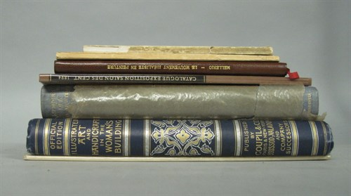 Lot 2 - 7 vols. (4 wrappers). Fine, Graphic,...