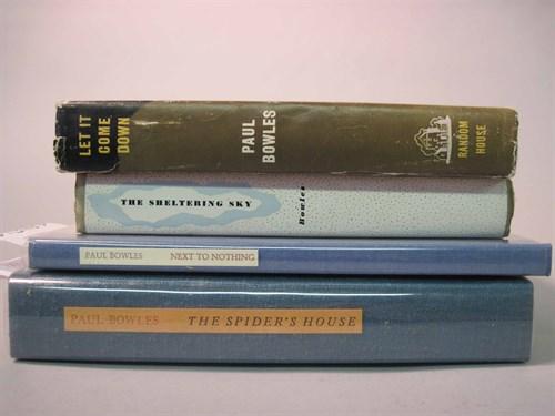 Lot 83 - 4 vols. Bowles, Paul: The Sheltering Sky. [N.Y....