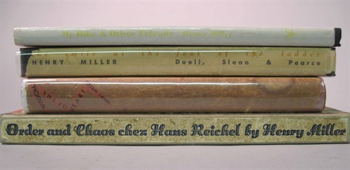 Lot 92 - 4 vols. Miller, Henry: The Smile at the Foot...