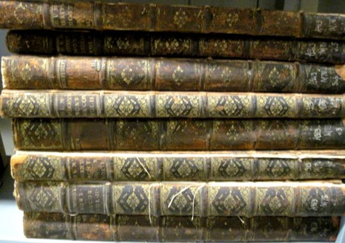 Lot 3 - 8 vols. Montfaucon, [Bernard de.] Antiquity...