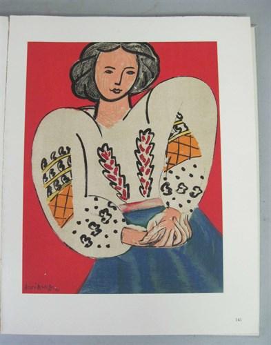 Lot 68 - 1 vol. Matisse, Henri. Portraits. Monte Carlo:...
