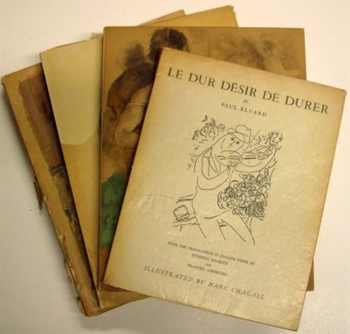 Lot 63 - 4 vols.(wrappers.) Modern Art: Roger-Marx,...
