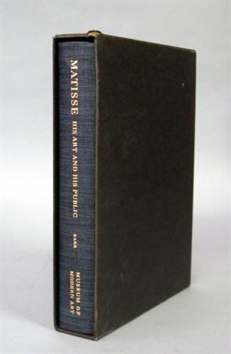 Lot 66 - 1 vol. (Matisse, Henri.) Barr, Alfred H....