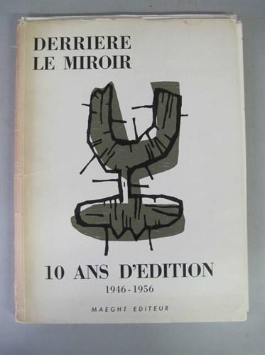 Lot 34 - 1 vol. (Miro, Joan; Chagall, Marc,...
