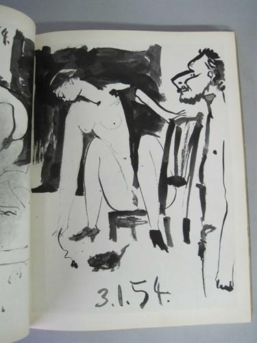 Lot 33 - 1 vol. (Picasso, Pablo.) Suite de 180 Dessins....