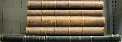 Lot 7 - 5 vols. Gailhabaud, Jules. L'Architecture du...