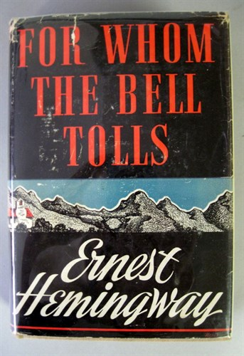 Lot 89 - 1 vol. Hemingway, Ernest. For Whom the Bell...