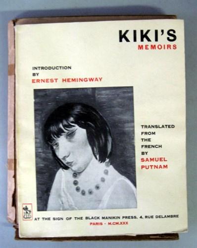 Lot 90 - 1 vol. (Hemingway, Ernest, intro. by.) Kiki's...