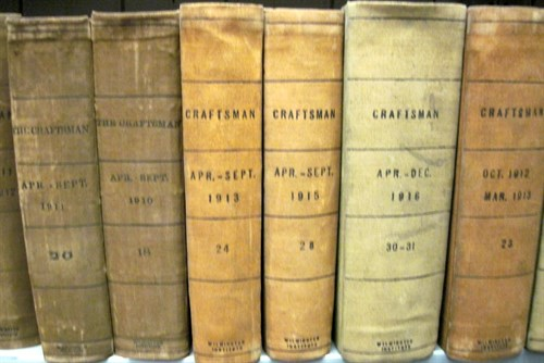 Lot 20 - 14 vols. (Arts & Crafts) Stickley, Gustave,...