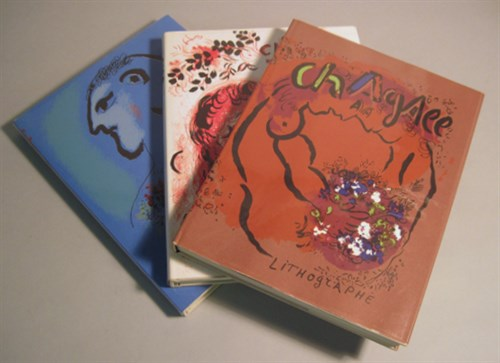 Lot 37 - 3 vols Chagall, Marc. The Lithographs of Marc...