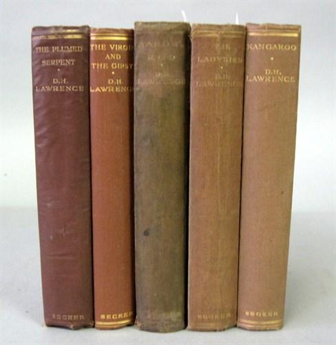 Lot 87 - 5 vols. Lawrence, D.H. [Novels & Short Stories....