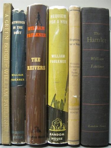 Lot 79 - 6 vols. Faulkner, William: A Green Bough. New...