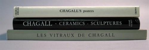 Lot 40 - 3 vols. Marc Chagall - Catalogue Raisonne;...