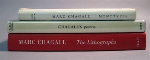 Lot 41 - 3 vols. Marc Chagall - Graphic Art Catalogue...