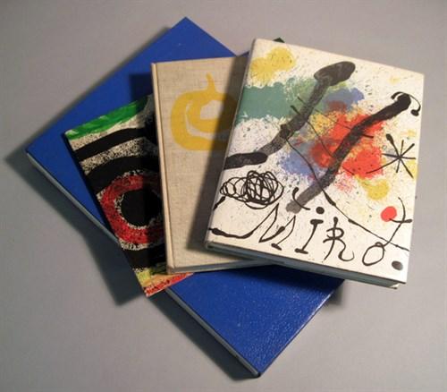 Lot 42 - 4 vols.(1 wrapper) Joan Miro: Erben, Walter....