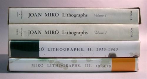 Lot 43 - 4 vols. Miro, Joan. Lithographs. New York,...