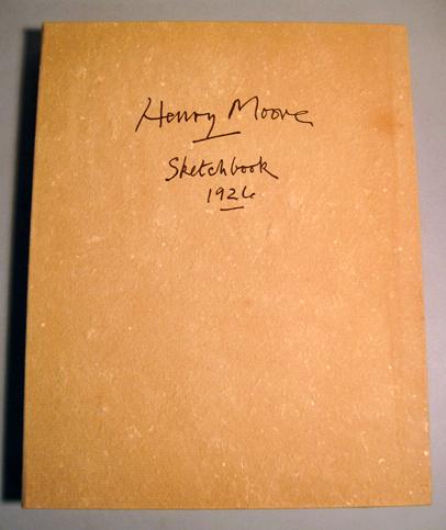 Lot 45 - 1 portfolio. Moore, Henry Spencer. Sketchbook...