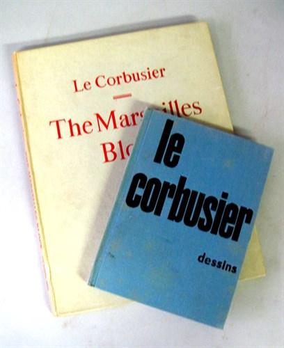 Lot 10 - 2 vols. Le Corbusier. Les Corbusier - The...