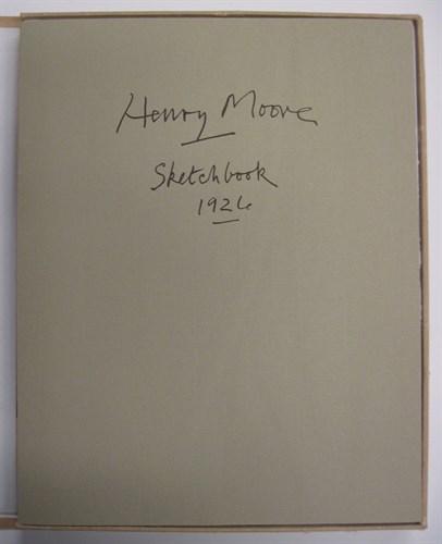 Lot 53 - 1 portfolio. Moore, Henry Spencer. Sketchbook...