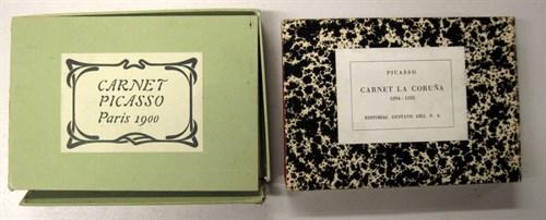 Lot 54 - 4 vols. (Picasso, Pablo:) Facsimile Sketch...