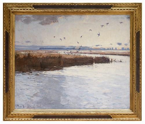 Lot 49 - Frank Weston Benson (American, 1862-1951)