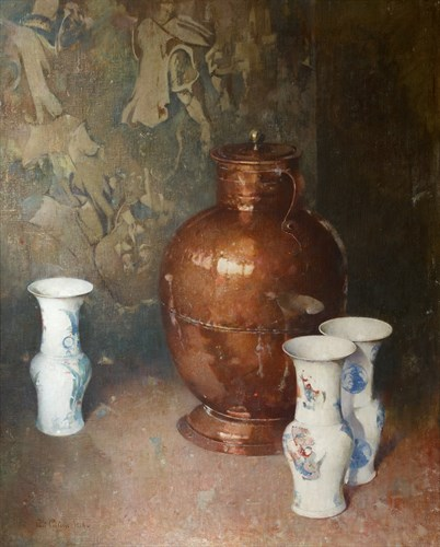 Lot 42 - Emil Carlsen (American, 1853-1932)