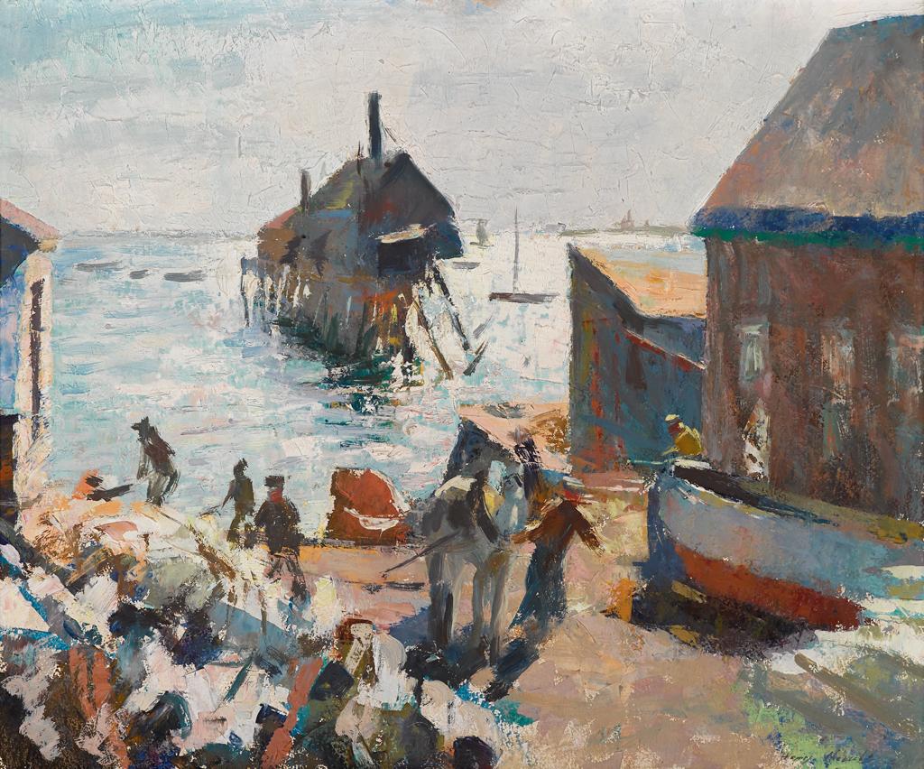 Lot 45 - HENRY HENSCHE  (AMERICAN 1901-1992)