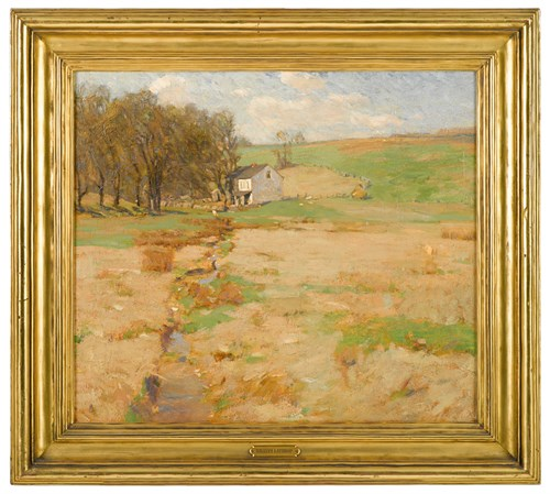 Lot 62 - WILLIAM LANGSON LATHROP  (AMERICAN 1859-1938)