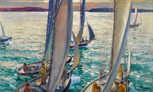 Lot 41 - JONAS LIE  (AMERICAN/NORWEGIAN 1880-1940)
