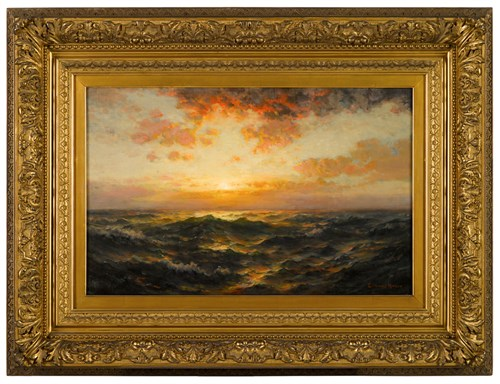 Lot 38 - EDWARD MORAN  (AMERICAN 1829-1901)