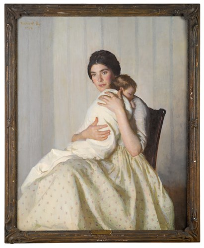 Lot 55 - MARIE DANFORTH PAGE  (AMERICAN 1869-1940)