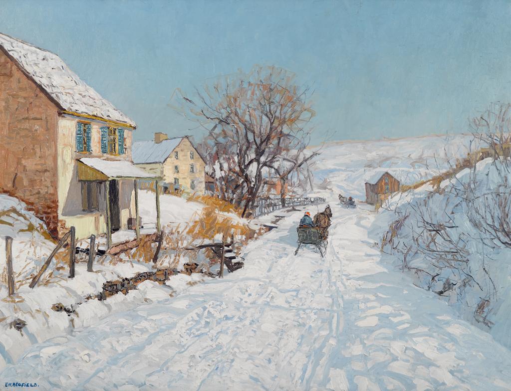 Lot 64 - Edward Willis Redfield (American, 1869-1965)