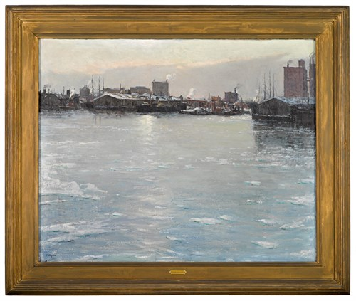 Lot 63 - FREDERICK R. WAGNER  (AMERICAN 1864-1940)