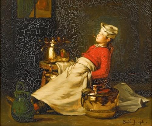 Lot 12 - JOSEPH BAIL  (FRENCH 1862-1921)