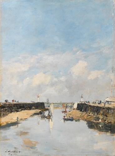 Lot 7 - EUGÈNE LOUIS BOUDIN  (FRENCH 1824-1898)