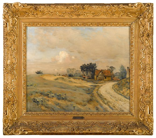 Lot 9 - JEAN-CHARLES CAZIN  (FRENCH 1841-1901)