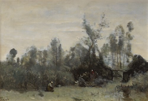 Lot 4 - JEAN-BAPTISTE-CAMILLE COROT  (FRENCH 1796-1875)