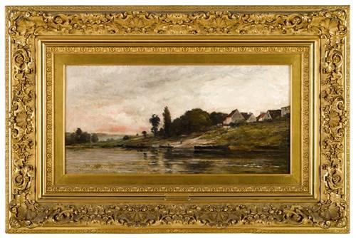 Lot 1 - CHARLES FRANÇOIS DAUBIGNY  (FRENCH 1817-1878)