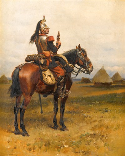 Lot 13 - EDOUARD JEAN BAPTISTE DETAILLE  (FRENCH 1848-1912)
