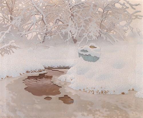 Lot 27 - GUSTAF EDOLF FJAESTAD  (SWEDISH 1868-1948)