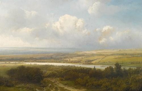 Lot 18 - PIETER LODEWIJK FRANCISCO KLUYVER  (DUTCH 1816-1900)